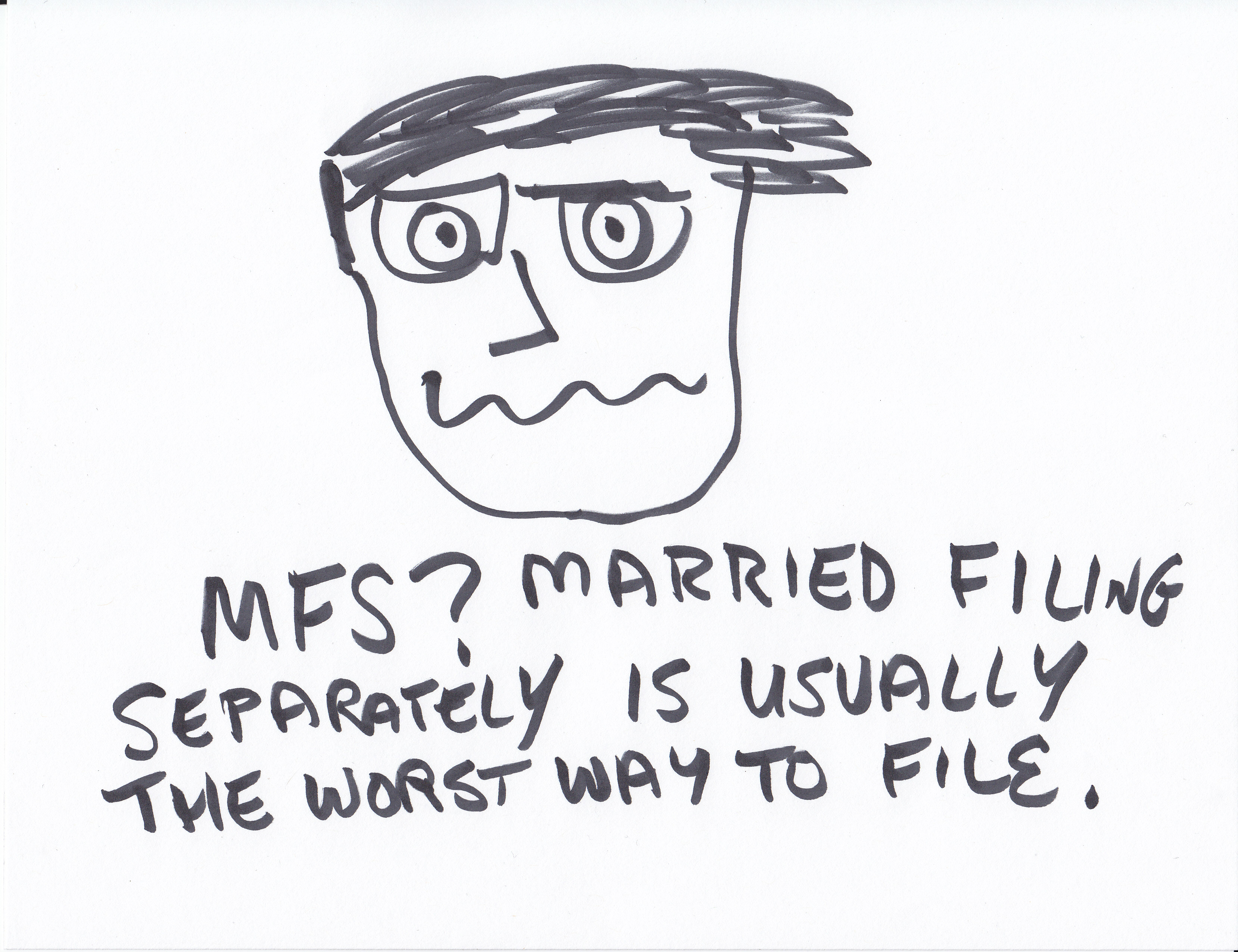 Married Filing Separately Question